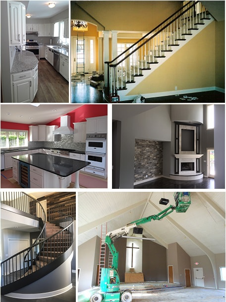 Interior Painting Services at D. Howard Painting