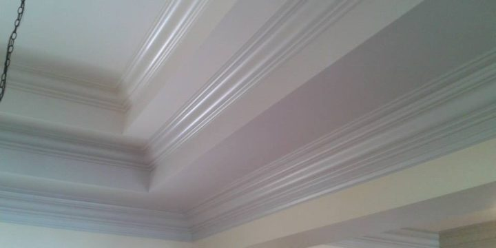 Interior Painting Crown Molding Ceiling