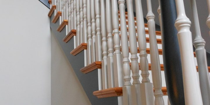 Interior Painting Staircase